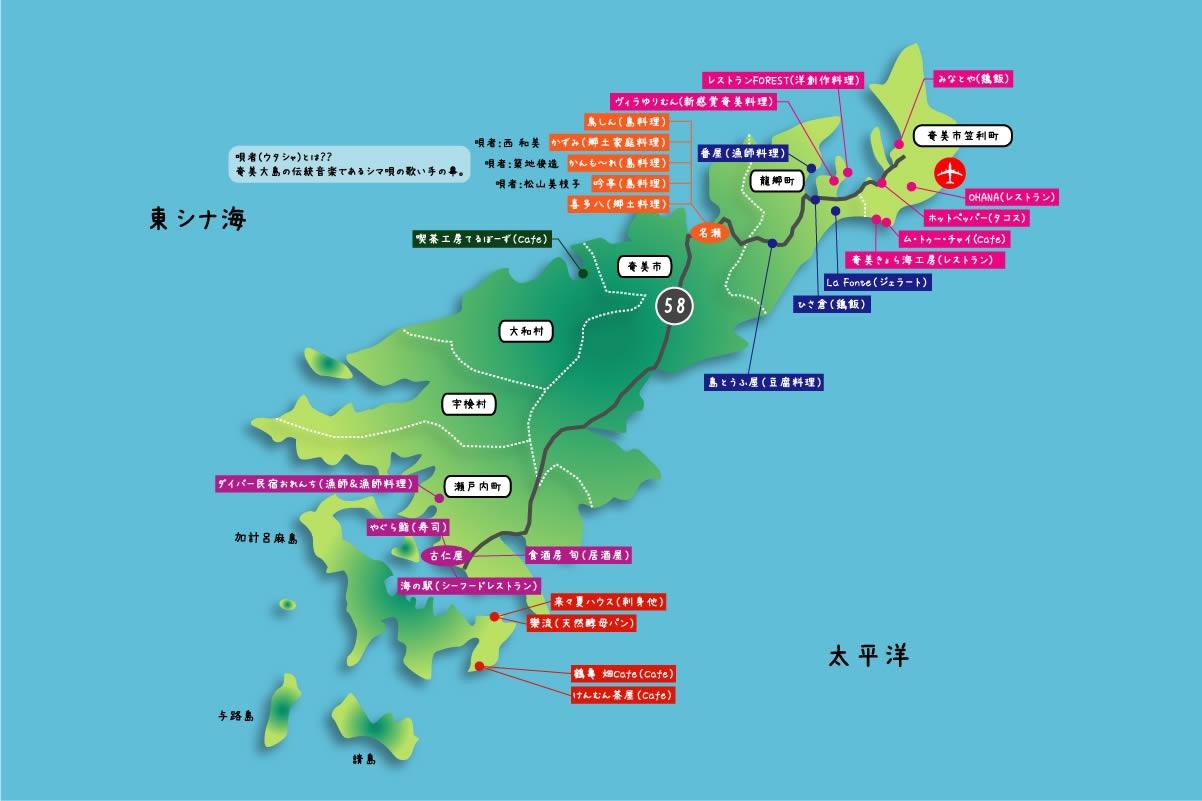 大島 グルメ 奄美